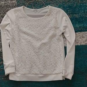 Lacy sweatshirt